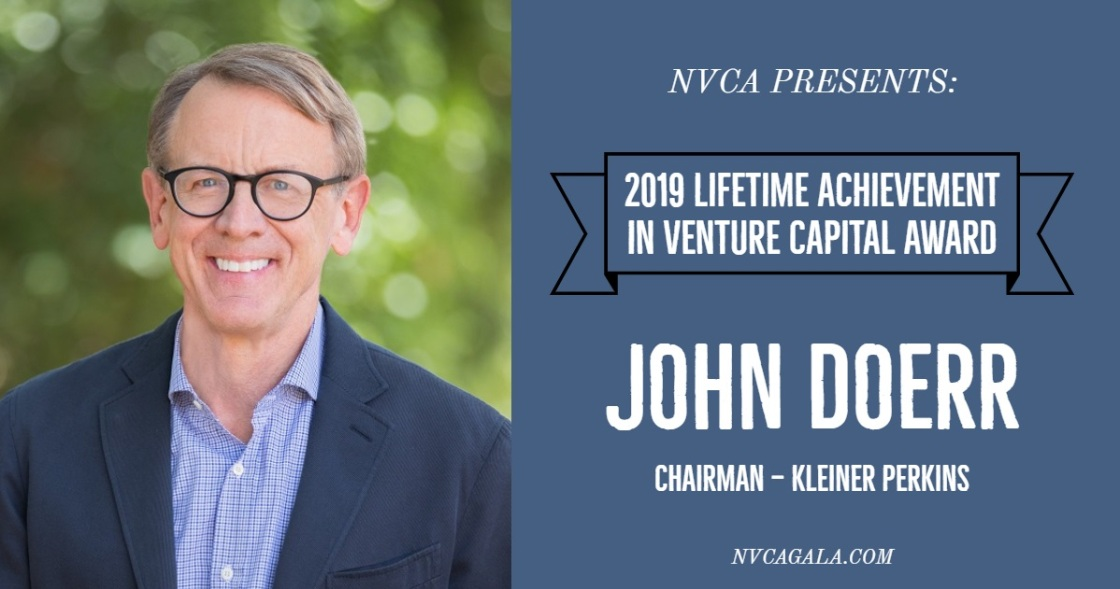 john doerr lifetime achievement award