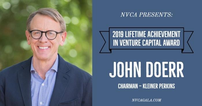 john doerr lifetime achievement award